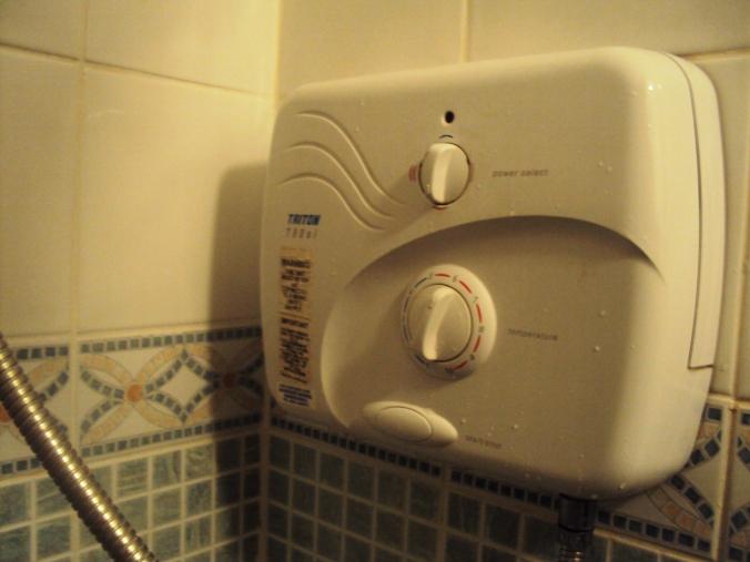 Las duchas eléctricas